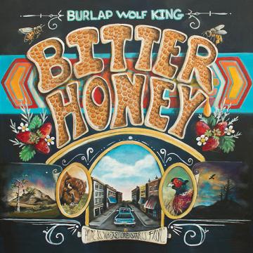Burlap Wolf King - Bitter honey