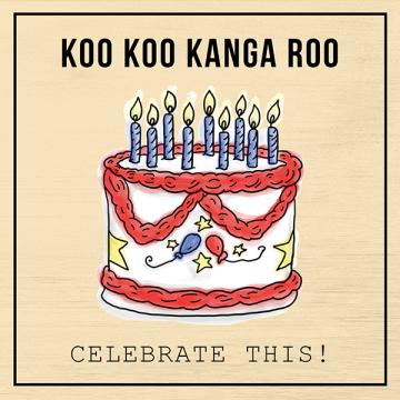 Koo Koo Kangaroo Celebrate This