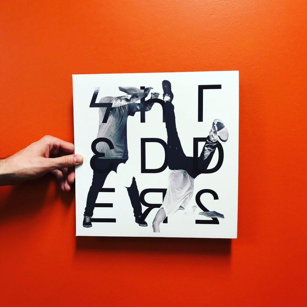 Shredders - Dangerous Jumps Vinyl Cover