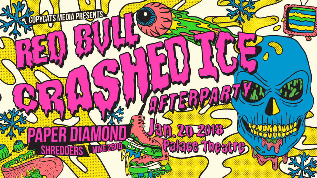 Red Bull Crashed Ice Afterparty Event Banner
